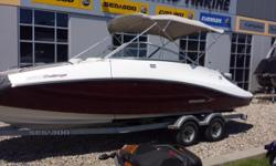 *Reduced* - 31/05/2016 was $27,900 Purchased this boat for our cabin at Shawnigan Lake and realized it's too big for our dock! We picked it up from Banner in Kelowna last summer (first owners). No props makes it great for navigating narrow waters & very
