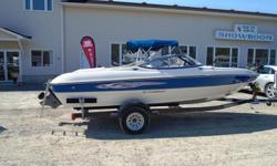 2010 Stingray 195 Fish & Ski Description: The perfect boat for every member of the family, whether you are just cruising, fishing, or skiing and tubing, you have all options. For the fishermen in the family this boat has a removable trolling motor, fish