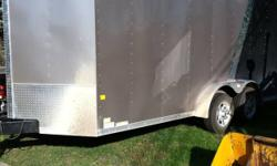I want to sell my 2011 cargo trailer 7x16 it is a new trailer call me it 12043813863 This ad was posted with the Kijiji Classifieds app.