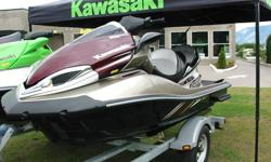 !!XCALIBUR KAWASAKI!! SUPER SALE ON NOW!! SAVE BIG $$$   $3000.00 OFF!!   From horsepower to handleing and everything in between, once the spray settles after the first ride, one thing will be certain, you have made the right choice! The powerful Jet Ski
