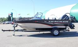 **LIMITED TIME OFFER** REGULAR: $28,995 - $4000 CASH ALTERNATIVE = $24,995 w/Mercury 115HP EXLPT Optimax INCLUDES: Lowrance X50 DS Fish Finder, Minn Kota® PowerDriveTM Trolling Motor, 2 Movable Fold Down Fishing Seats !! Extended Warranty Till May 18,