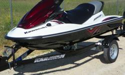 FOR SALE 2011 KAWASAKI STX15F JET SKI REG $ 11,299.00  SALE $ 9999.00   3 SEATER JET SKI 4 STROKE PERFROMANCE 160 HORSEPOWER FUEL INJECTED C/W 1 YEAR WARRANTY SLO AND FPO MODES EXCEPTIONAL HANDLING   Adventure Power Products 777 Quest Blvd. Ile Des