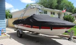For sale is a beautiful barely used (max 50 hours) 185 Bayliner It Features a 4.3 Mercruiser Inboard motor (135 hp) a monster wakeboard tower with double Rosswell speaker and an extended platform The boat was well maintained by performance marine where it