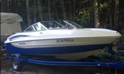 2012 Glastron Bow rider. Fuel efficient 3.0l Mercruiser with only 25 hours. Comes with all safety equipment and matching trailer.