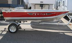 Great New little 12' Aluminum boat, only weighs only 205LBS,  great for trolling in the little lakes around the area. This price is for the Boat alone, add a trailer for $1100.00. Add any size motor you want up to a 9.9hp.