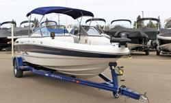 **LIMITED TIME OFFER** REGULAR: $32,995 -$4,000 SAVINGS! POWER-UP SAVINGS: $28,995 w/Volvo Penta 200HP 4.3L GI INCLUDES: Snap-In Carpet, Humminbird® 160 Fish Finder, Minn Kota® PowerDrive V2 Trolling Motor & 2 Fishing Seats!! *Offer Expires End of Month