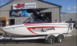The Calgary Boat and Sportsmen's Show is coming soon.  But if you can't wait till then to view the best wakesurf boats available Hyperactive Watersports is open six days a week and we have plenty of new boats on display in our showroom.  Stop in and see