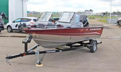 Dealer Demonstrator - 7.5 hours ONLY! **LIMITED TIME OFFER** REGULAR: $42,995 $3000 SAVINGS! POWER-UP SAVINGS: $39,995 w/150XL Merc Verado 4Stroke INCLUDES: Minn Kota® Trolling Motor, Lowrance® Fish Finder, & Courtesy Lights!!