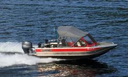18.5 ft aluminum boat, 115hp Yamaha with 450 hours, fully rigged for fishing, Scotty electric downriggers, bottom paint, easy loader trailer. Currently located Barkley Sound. Registered in USA.