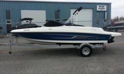 2014 bayliner 175 bow rider with a 3.0 litre mercury murcruiser inboard/outboard engine. propeller has been upgraded to a 19 degree pitch. Boat has been well maintained acid washed and winterized every fall and summerized every spring. comes with trailer,
