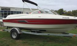 2014 Bayliner 185 with a 4.3L 190HP Mercury Engine This boat is fully loaded and is the perfect fish and ski. Includes: - Minn Kota Power Drive Trolling Motor - Hummingbird GPS/Fish Finder - Minn Kota on board charger - Casting Seat - Casting Platform -