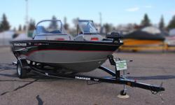 Boat, Motor, Trailer & Cover ALL INCLUDED! = $29,995 w/Mercury 115Hp Four Stroke INCLUDES: Bow-mounted Minnkota 12V Powerdrive V2 trolling motor,Helm-mounted Lowrance Hook 3X fishfinder and Deluxe Cover *Offer Expires End of Month Standard Features