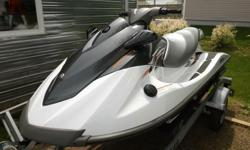 BRAND NEW CONDITION!!!! 3 person Yamaha watercraft...ONLY 8.8 hours running time. Comes with cover, sea biscuit and 2014 trailer...all you need to hit the water. Still under warranty