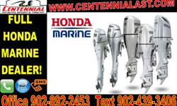 2015 Honda Marine Outboard Special Most Models Are In Stock! Call Today For More Details On Pricing & Finance Options 14 Grant St Charlottetown PE 902-892-2453
