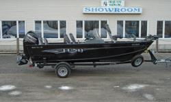 2015 Lund 1625 Fury XL SS Black This 1625 Fury XL SS is in remarkable condition and is like new. It is powered by a 2015 Mercury 60 hp Command Thrust. This boat has the following features: Driver Seat air ride Pedestal with Slider Snap on cockpit cover 3