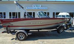 Fish in style or insert the ski pylon and ski the day away; either way you get to experience Lund's superior design and construction with the Crossover. This boat will keep the whole family happy with features like a rod locker for your rods of choice and