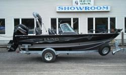WE COULDN'T CALL THIS BOAT ANYTHING LESS THAN PRO. The 1775 Lund Pro-V aluminum fishing boat provides everything a fisherman needs and floats in at almost 18'. The Lund livewell management system gives you greater visibility and control over your Musky,