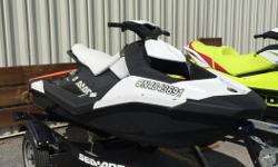 Stock# 215158 This 2015 Sea-Doo Spark 3UP 900 HO ACE IBR was used as a demo during the 2015 summer, however it has very low hours at only 20 and is still in great condition! Say hello to the Sea-Doo SPARK, our latest breakthrough watercraft. It makes your