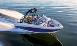 **LIMITED TIME OFFER** REGULAR: $44,995 - $3000 CASH ALTERNATIVE = $41,995 w/4.3L MPI 220HP LIMITED TIME BONUS: Driver Bolster Seat, Auto Bilge, Tilt Steering, Upgraded Cover & Factory Installed Depth Finder! Features NEW longer, wider, and deeper hull