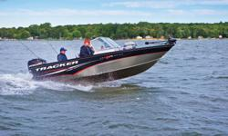 **LIMITED TIME OFFER** REGULAR: $41,995 - $4000 CASH ALTERNATIVE = $37,995 w/115HP 4Stroke EFI LIMITED TIME BONUS: Upgraded Cover, Port/Starboard Bow Cushions/Battery Charger PLUS Tracker 5-Year Bow-to-Stern Warranty & Lifetime Structural Hull & Deck