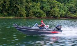 **LIMITED TIME OFFER** REGULAR: $24,995 - $2000 CASH ALTERNATIVE = $22,995 w/40HP ELPT 4Stroke LIMITED TIME BONUS: Upgraded Cover & Battery Management System! PLUS Tracker 5-Year Bow-to-Stern Warranty & Lifetime Structural Hull & Deck Warranty! *Offer