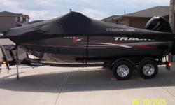 2015 Tracker Targa V18 Combo 150XL4S 4 Stroke Merc - Stainless Prop Trailstar Tandem Trailer Tracker Ratchet cover Tracker Convertible Top with front curtain & boot .Top slides in versa track system I Pilot upgrade Lowrance Elite 5 CHIRP upgrade spare