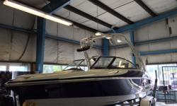 New Campion SV3 Wake Boat with 3 built in ballasts and fat sacs. This boat makes an awesome wave without all the complicated gadgets. This one has every option available. Options include heatercraft heater, upgraded stereo package w/ transom remote, dual
