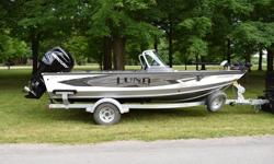 2016 Lund 1875 ProV IFS/SE Description: This boat was run by Lund Pro Staffer Dennis MacNaughtan for the 2016 season. It was ordered in fully loaded and is in absolutely perfect condition. It is a walleye catching machine! Loaded with features, it is