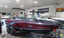 """With an excellent look and fiberglass fishing boat finish, its form is unmistakable. Our fiberglass walleye or muskie fishing boat provides a smooth ride. This is hardcore fishing at it's best. ? Hull IPS3? Length: 20' 2"""" Beam: 102"""" Transom: 25"""" Fuel:"""