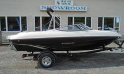 All Standard Features PLUS: Volvo Penta 225 hp 4.3 Gxi S/S prop, Aft filler cushion Snap in Carpets. Bolster Seats, Tilt Steering Digital depth Gauge w/Depth Alarm Bluetooth Stereo w/remote, Transom Trim Switch Stainless Package Bimini Top , Bow and