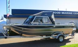 This Thunderjet 20' Falcon 1/2 Hard Top comes powered by a Yamaha F115XB and packaged with an EZ Loader Trailer with disc brakes. Factory options include: *Washdown System *Anchor Roller *Bow Locker w/Drain *Transom Fish Box *Passenger Wiper *LED Flood &