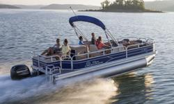 Boat, Motor, Trailer and Cover - All Included! Industry-leading 10+Life? warranty NMMA® Certified 9'(2.74 m) color-keyed Bimini top w/LED courtesy lights & protective boot Exclusive QuickLiftTM Bimini top deployment system, allowing 1 person to