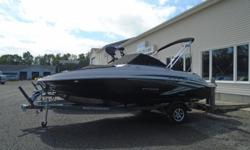 2018 Stingray 201DC - STR102 Price includes all standard features PLUS: Mercury 150XLPT EFI 4 stroke Hyper Grey Hull Graphic Hydraulic Steering, Helm Sport Bucket with Bolster Helm Seat Slider, Tilt Steering Stainless Steel Hardware Package Bimini Top,