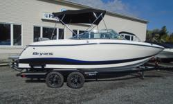 Bryants are absolutely top of the line, 100% wood free boats made with all hand laid fiberglass. This gorgeous Calandra is perfect for a day on the water with family and friends. There is plenty of storage, and the changeable seating provides for