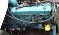 engine is a Gm 250 inline 6, runs amazing. outdrive has had $2000 worth of work done to it with new seals, bearing, waterpump. comes with spare outdrive as well. tounel cover is in great shape no leaks or holes, interior has newer seats n need little tlc