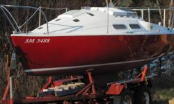Great Deal!! 20' 1975 Mach 2 Independent sailboat. 1 of 35 made. Excellent, low maintenance boat for learning to sail! Sleeps 3, includes trailer, several sails and jibs, kitchenette, and a 9.9 hp Mercury engine. Very well maintained! $10,900 O.N.O.
