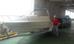 Mint condition, runs perfect!! Sleeps 2-3 3.0 litre Mercruiser with Alpha One Gen Two drive and Titan tailer with brakes.
