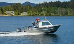 "This boat was traded in for another model and is as-new! It only has 1 hour on the engine and is in brand new condition. It has been tested and inspected and is ready to go! Come see this 21'-0"" Runabout Hard top at the manufacturer's lot in Sooke, BC."