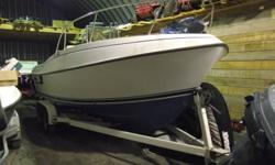 THIS BOAT IS IN GREAT SHAPE ,COMES WITH SOUNDER WITH SPEED AND TEMP WIRED FOR SCOTTY ELECTRICS VHF RADIO, FULL BIMINI COVER PLUS FULL BOW STORAGE COVER PLUS SIDE CURTIANS AND REAR COVER ALSO REAR DROP CURTAIN WITH ZIPPERED DOORS THIS BOAT IS VERY WELL