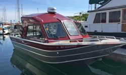 """Are you looking for an """"almost new"""" fishing machine? This 2014 Thunder Jet Tyee has only 275 hours of light usage. Loaded with extras including Lowrance HDS 9 inch touchscreen, 3G Radar, Wallas Diesel Furnace, Electric Downriggers and an upgraded Tuff"""