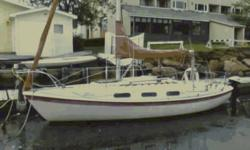 "1979 TANZER 22 SWING KEEL : ""GOOD CHEMISTRY"" KEEL: Swing, new winch cable, good polished pivot pin, draft 2.4?SAILS: all good to very good condition, mainsail (#1582) 2004, 100% jib, 150% jib 2004,170% genoa three paneled coloured, spinnaker asymmetric"