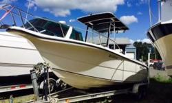 TWIN 115HP SUZUKI OUTBOARDS WITH ONLY 250 HOURS. ONE OWNER CENTER CONSOLE WALK AROUND, ON A MAGIC TILT DUEL AXLE TRAILER, HELM SEATING, LIVE FISH WELL, COOLER, SUN SHADE, ROD HOLDERS, FISH FINDER/DEPTH SOUNDER, 2 SCOTTY DOWN RIGGERS, VHF AND AM/FM CD