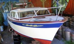 Beautifully refurbished 1962 28' Chris-Craft Constellation. View this boat out of water and see there is absolutely no rot in this mahogany hull. Engines and pumps etc. were rebuilt and run in at the shop. New holding tank and fuel tanks. Current survey.