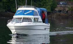 Boat, in good shape comes with 9.9 kicker, Trailer are located in Port Hardy Call Roger at 780-739-2994  I am in Alberta