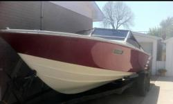 Wellcraft Nova with twin mercs 450hp. All new bellows, shifter cables, gimbal's and stainless props. Interior in great shape! Extras incl. Trailer incl. 6500 Obo. Or trade for Harley or muscle car?? Call 519-312-7637 This ad was posted with the Kijiji