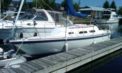 27' O'Day Excellent condition, completely rebuilt Yanmar diesel engine, sleeps 6, over 6' cabin height, microwave, GPS, head, fold down table for extra room, all safety equippment, battery charger built-in, 2 anchors, stereo, radio,cockpit awning, all