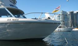 Well Maintained Older Bayliner classic -parked in my driveway, motivated to sell -turn key ready! -GPS/ Depth Sounder on Command Bridge -VHS Radio at both driving stations -Depth Sounder on lower station -very large command bridge, with sleeper seats that