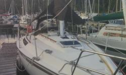 """Yachtsea"" needs a new family as the one she has been cruising around the islands grew up. She is a great sailer with 9'10"" beam and has lots of room for a couple or family with young kids. There are two berths aft of the cockpit that can be used for"
