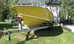 28' Chriscraft and trailer.  Must sell as I have another boat No reasonable offer refused. Call & make a deal