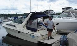SPRING IS COMING !  LET'S GET TOGETHER AND MAKE A DEAL ! Excellent condition. Open to offers... 34' LOA and a 10' beam. Twin 4.3 V6 engines with only a couple hundred hours since they were rebuilt. Good on gas. Mid cabin. Sleeps 5 Bank of 6 batteries with